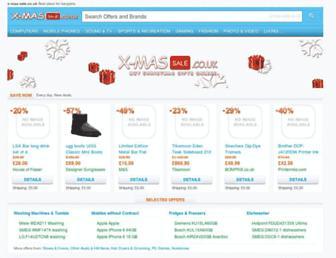 Thumbshot of X-mas-sale.co.uk