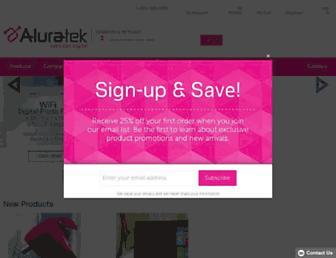 aluratek.com screenshot