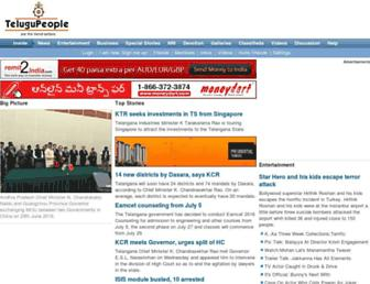Thumbshot of Telugupeople.com