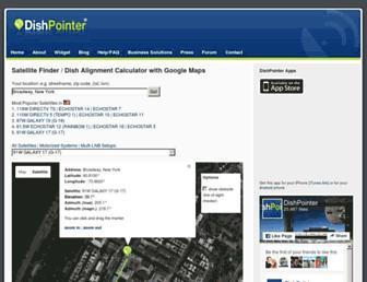Thumbshot of Dishpointer.com