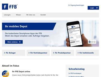 Thumbshot of Ffb.de