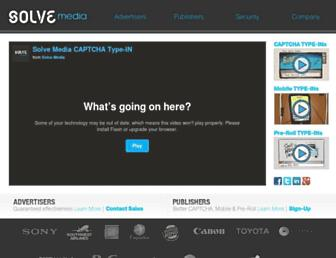 Thumbshot of Solvemedia.com