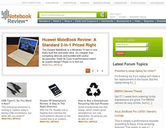 Thumbshot of Notebookreview.com