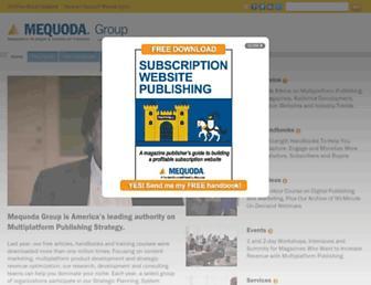 mequoda.com screenshot