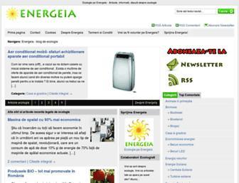 energeia.ro screenshot