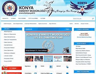 konya.pol.tr screenshot