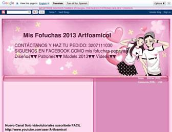 fofuchasenfoami.blogspot.com screenshot