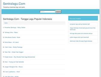 sentralagu.com screenshot