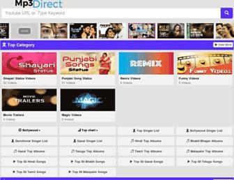 mp3-direct.net screenshot