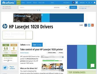 hp-laserjet-1020-drivers.en.softonic.com screenshot