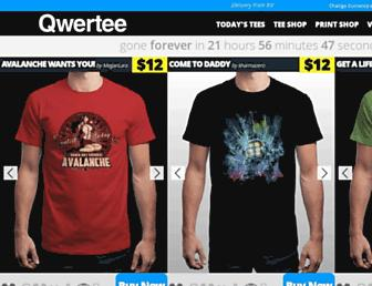 Thumbshot of Qwertee.com