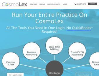 cosmolex.com screenshot