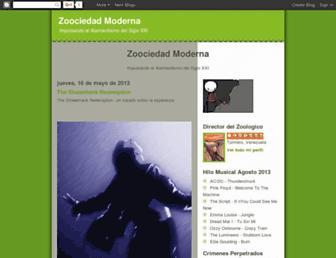 zoociedadmoderna.blogspot.com screenshot