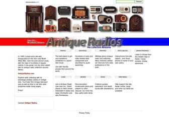 antiqueradios.com screenshot