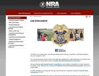 le.nra.org screenshot