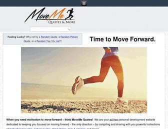 Fullscreen thumbnail of movemequotes.com