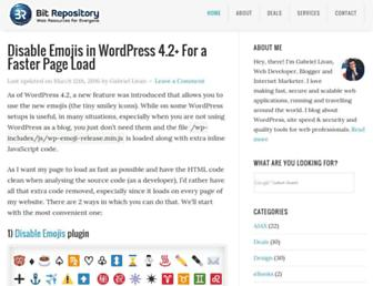 Thumbshot of Bitrepository.com