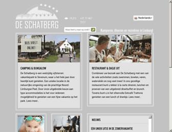 Main page screenshot of schatberg.nl