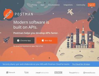 Thumbshot of Getpostman.com