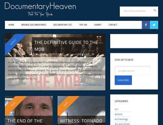 documentaryheaven.com screenshot