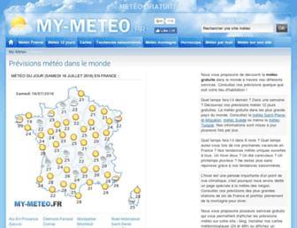 Thumbshot of My-meteo.fr