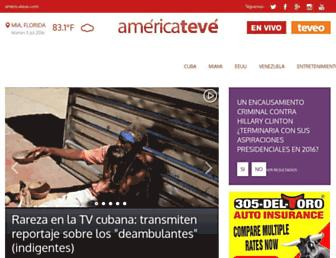americateve.com screenshot