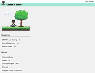 gamerdan.com screenshot