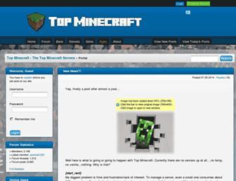topminecraft.net screenshot