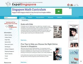 Thumbshot of Expatsingapore.com