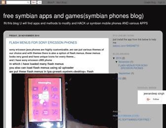 symbiann868mp.blogspot.com screenshot