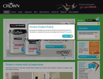 crownpaints.co.uk screenshot