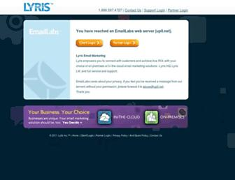 Main page screenshot of up0.net