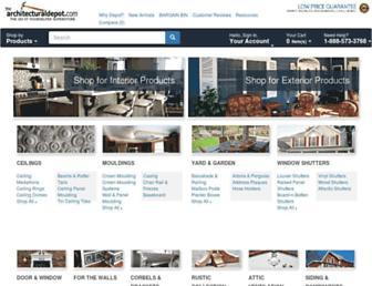 Thumbshot of Architecturaldepot.com