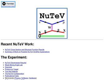 www-e815.fnal.gov screenshot