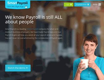 smartpayroll.com.au screenshot