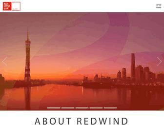 Main page screenshot of redwind.cn