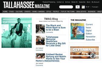 tallahasseemagazine.com screenshot