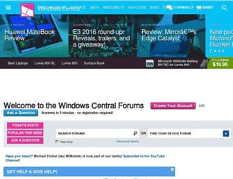 forums.windowscentral.com screenshot
