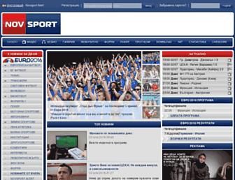 Thumbshot of Novsport.com