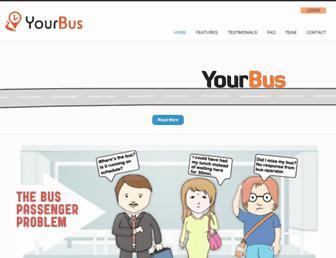 yourbus.in screenshot