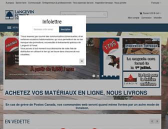 langevinforest.com screenshot