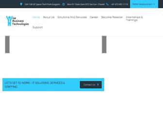 wisebiztech.com screenshot