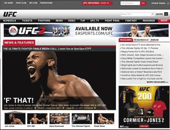 Thumbshot of Ufc.com