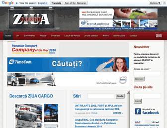 ziuacargo.ro screenshot