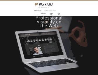 Thumbshot of Workfolio.com