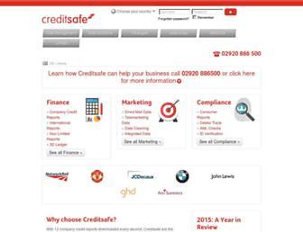 Thumbshot of Creditsafeuk.com