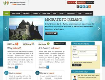Thumbshot of Visas2ireland.com