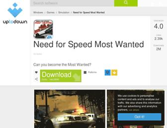 need-for-speed-most-wanted.en.uptodown.com screenshot