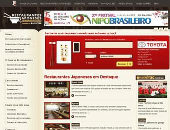 Thumbshot of Restaurantesjaponeses.com.br