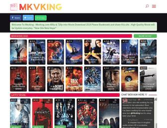 mkvking.com screenshot